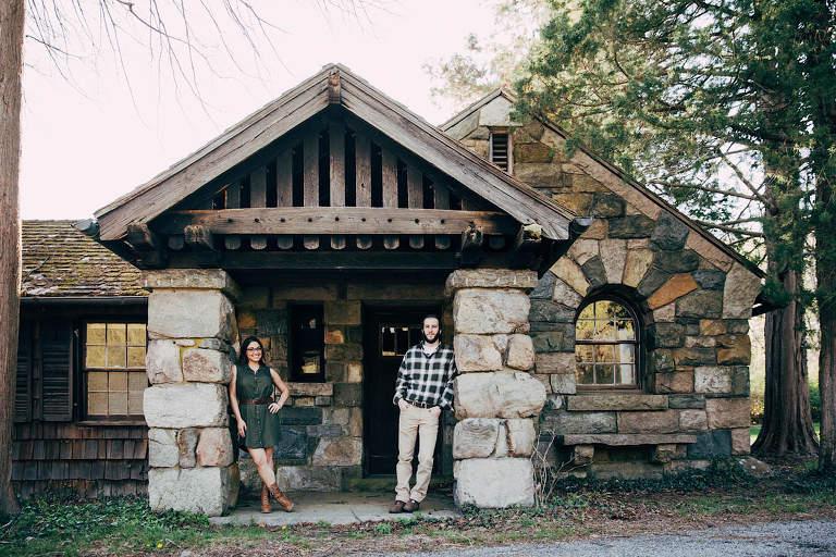Skylands Botanical Gardens Engagement Session Michelle Bryan Ringwood New Jersey