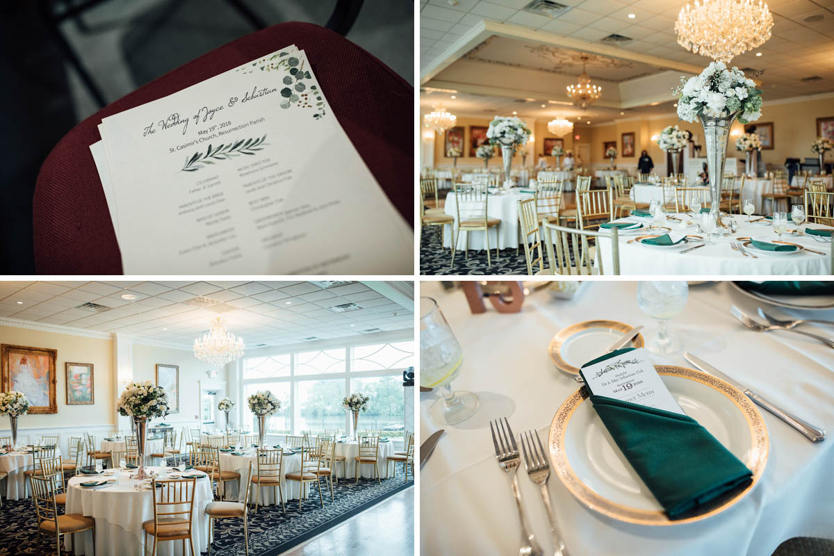 Modern Wedding Reception New Jersey Image