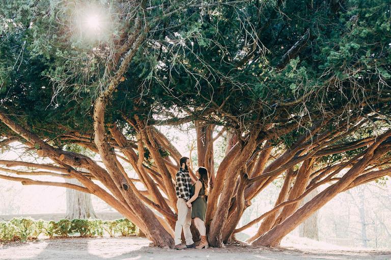 Skylands Botanical Gardens Engagement Shoot
