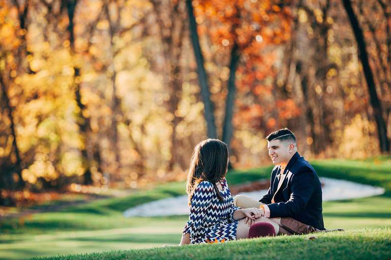 North Jersey Country Club Engagement Session