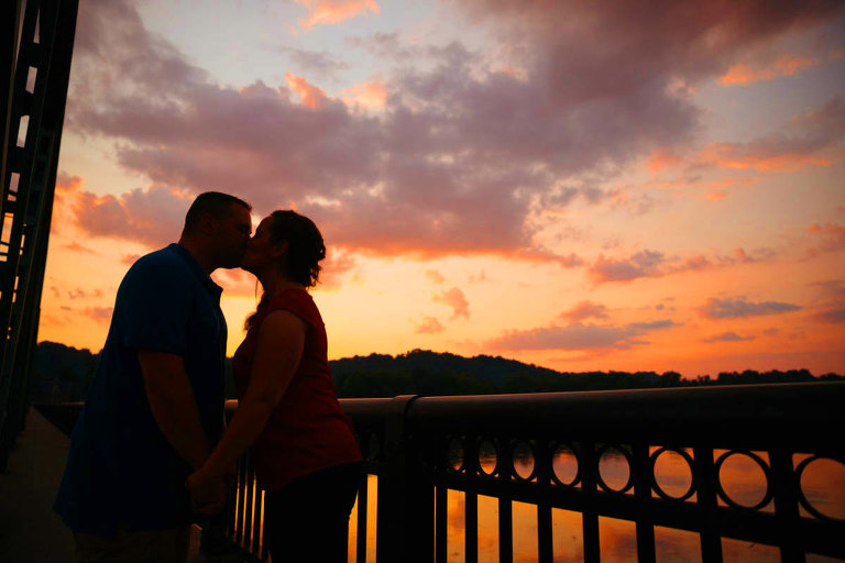 Frenchtown Engagement Shoot New Jersey