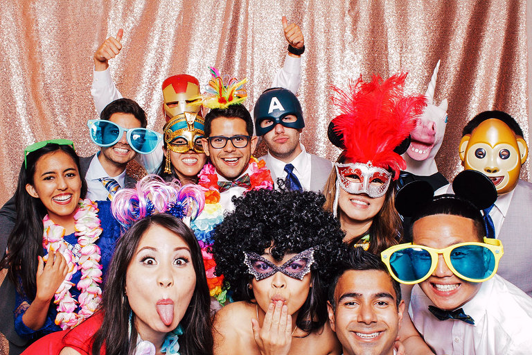 Fun Wedding Day Photo Booth New Jersey