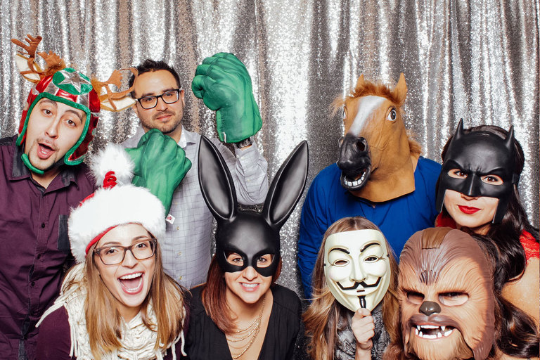 Fun Holiday Party Photo Booth NJ